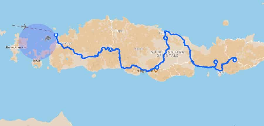 Itinerario Bali Flores agosto 2019 - Indonesia